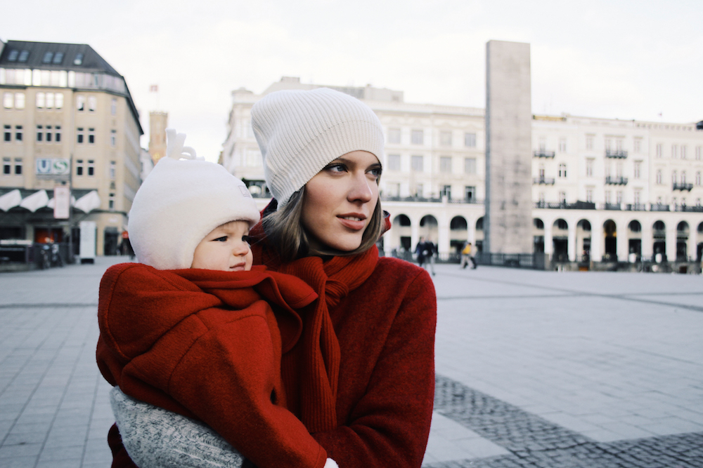 twinning mother daughter outfit wool eco friendly fashion by maas natur mochni