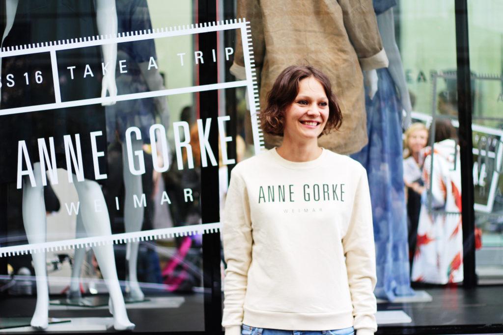 anne gorke eco friendly fashion label photo by mochni
