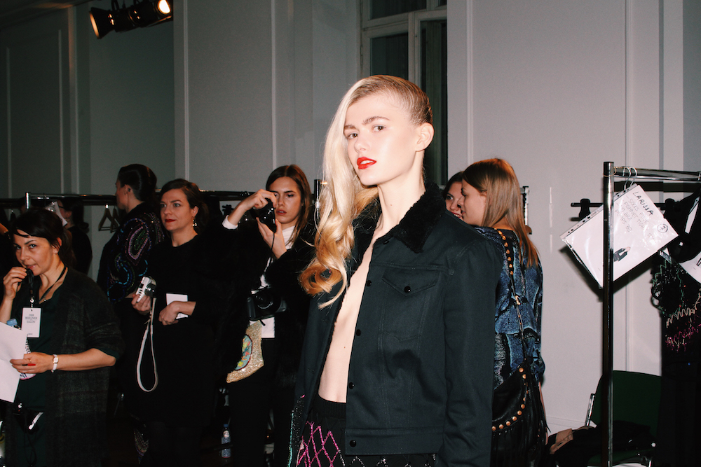 augustin teboul backstage models berlin fashion week mochni
