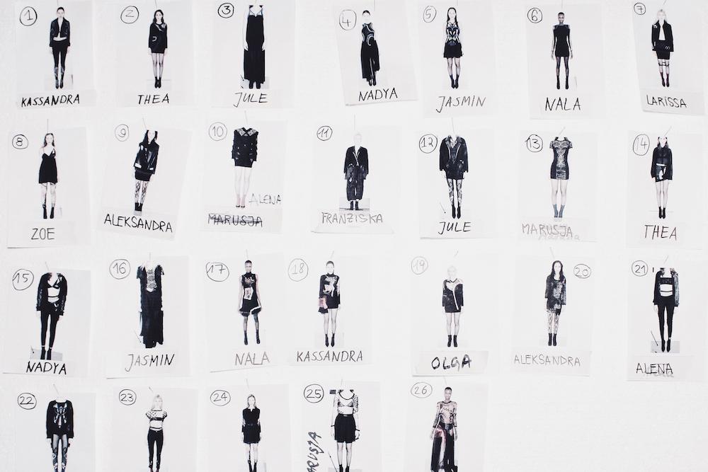 augustin teboul fitting backstage berlin fashion week mochni