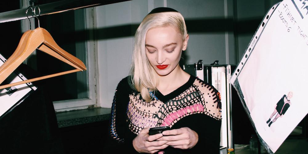 augustin teboul model wardrobe backstage berlin fashion week mochni