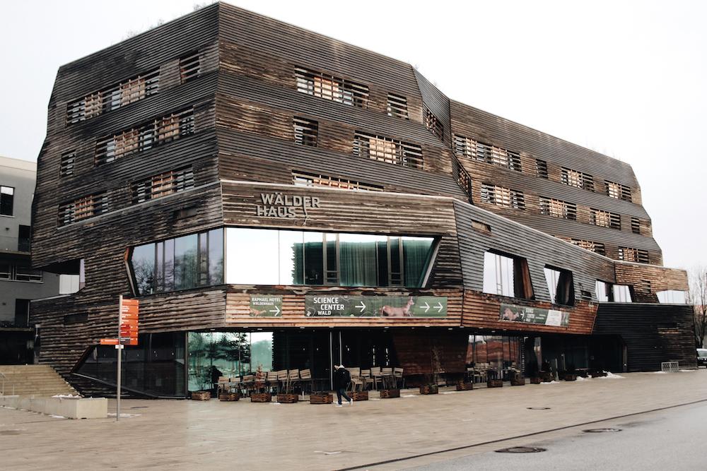 eco hotel hamburg waelderhaus wood house