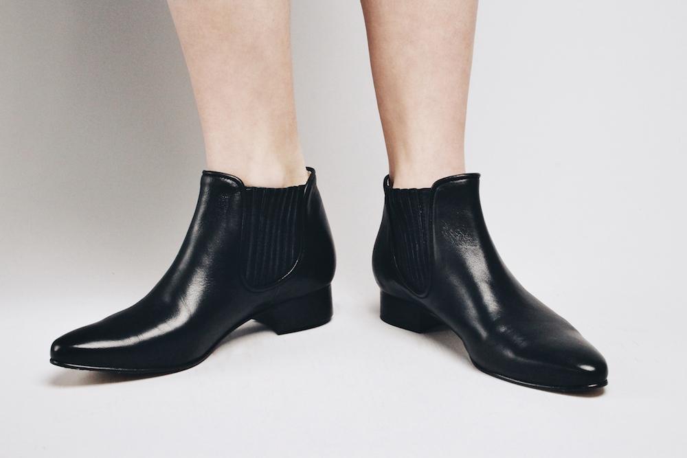 nine to five classy black boots mochni