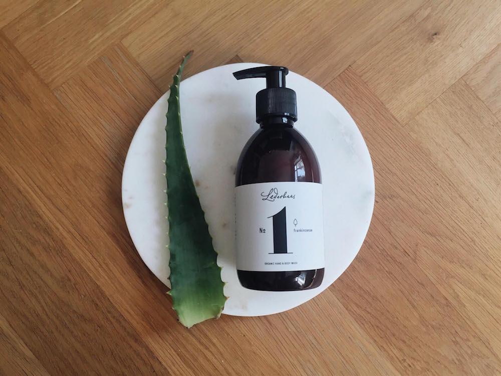 aloe vera organic soap lederhaas mochni