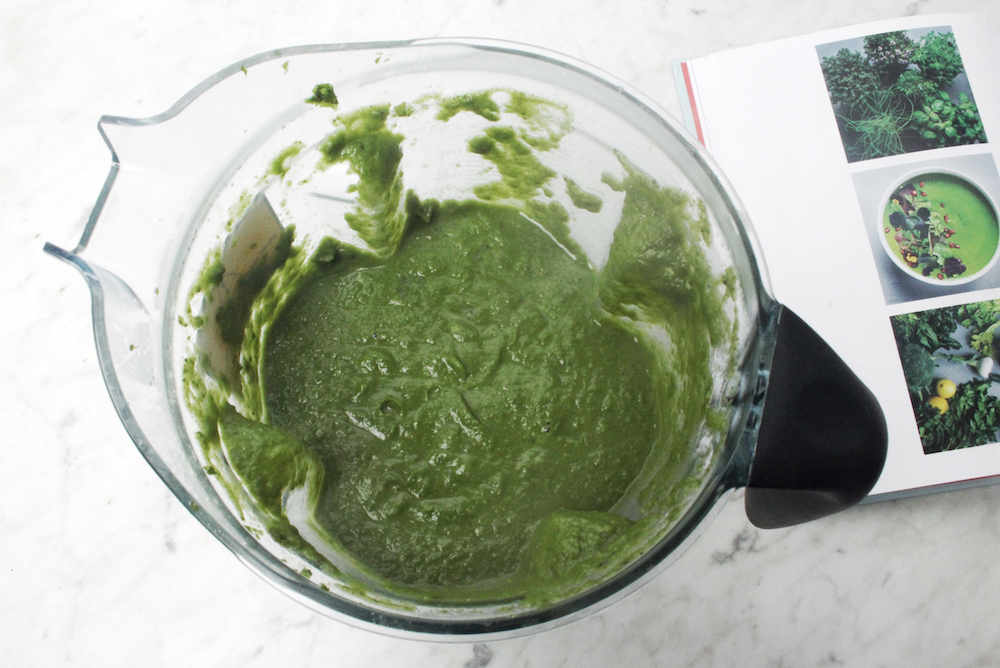 vitamix green soup
