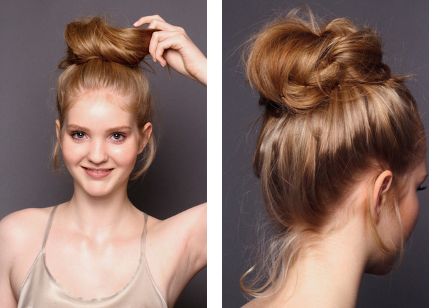 How to create the perfect messy bun Kopie