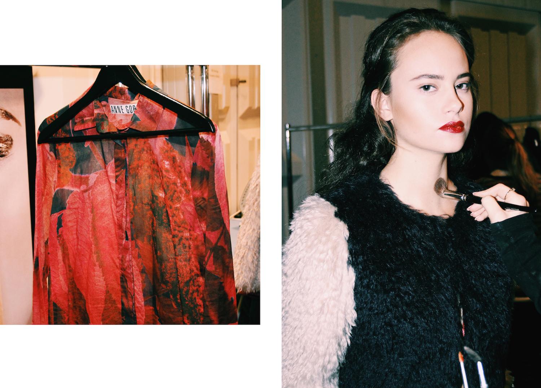 anne gorke eco fashion designer backstage fashion week berlin mochni