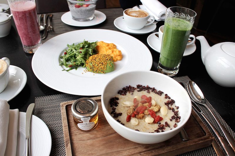 superfood breakfast by ruben tabares mandarin oriental london