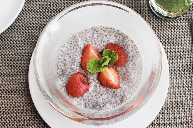 chia superfood breakfast mandarin oriental london