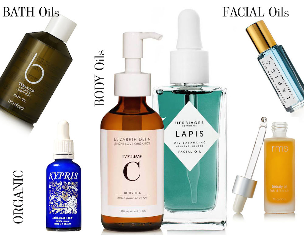 organic beauty oils