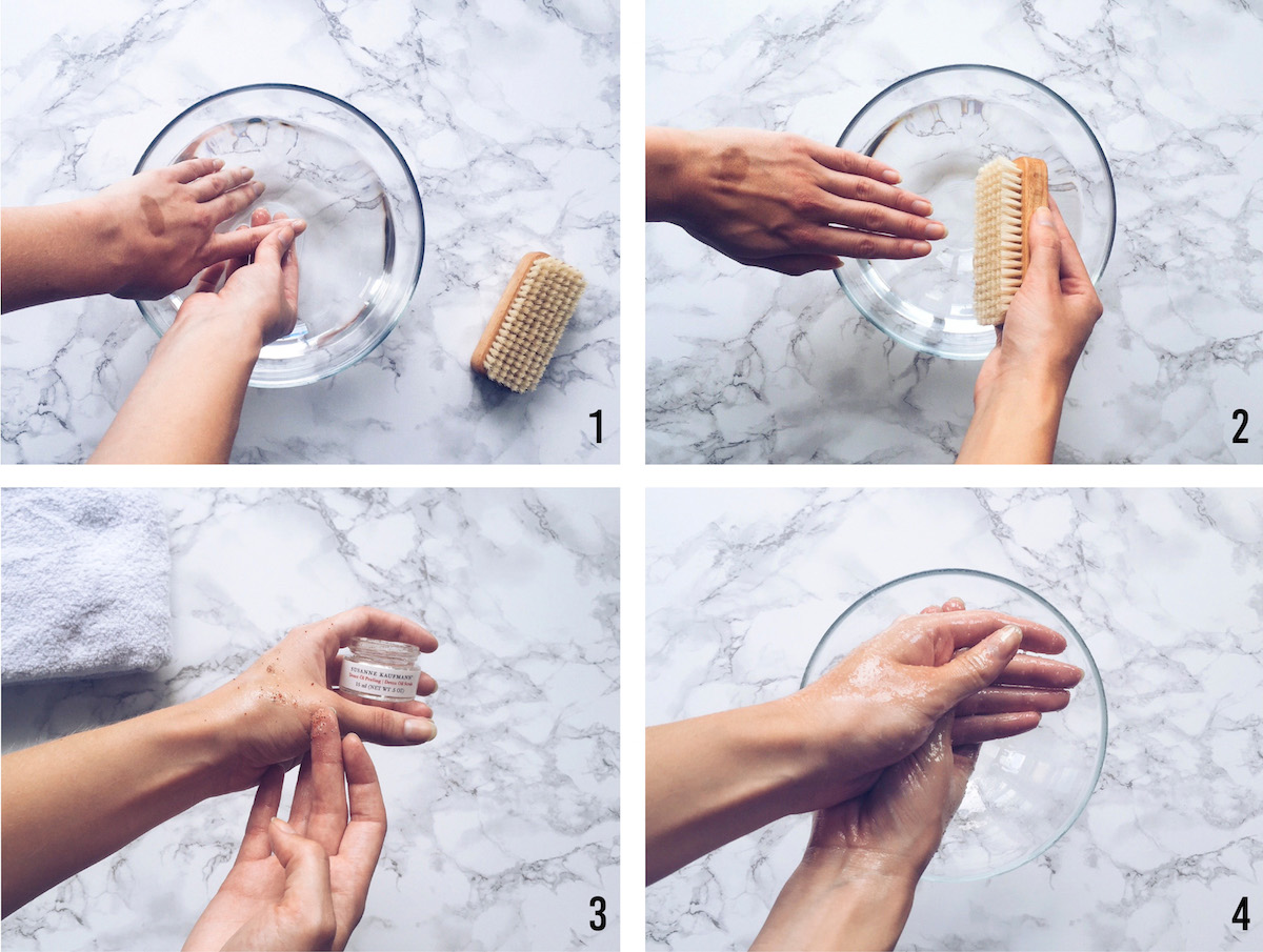 Guide: Nourishing Beach Manicure Brought To You by Susanne Kaufmann