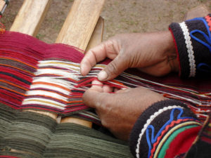 south american waeving technique