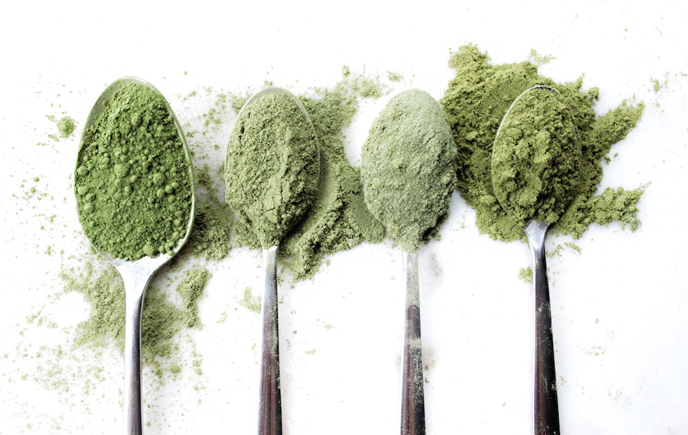 superfood green powder