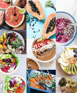 healthy food blogger