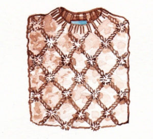 mochni knitwear pullover drawing