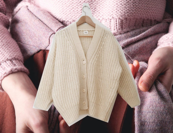 Background Photo: Kordal Knitwear, Beige Cardigan: Babaa Knitwear