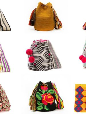 Geometry, Colour, Crochet: 100% Handmade By Wayuu People Of Colombia