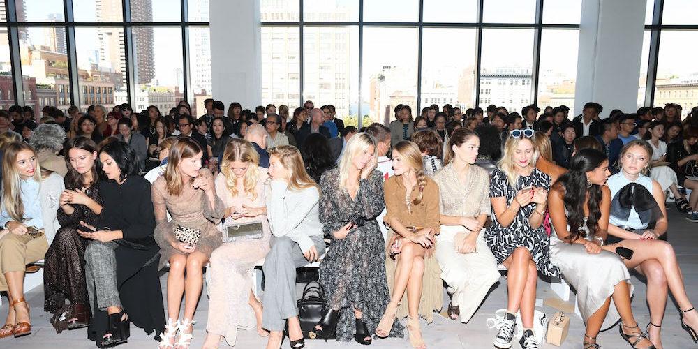 Michael Kors show, Spring Summer 2015, Mercedes-Benz Fashion Week, New York, America - 10 Sep 2014