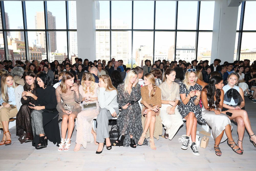 Michael Kors show, Spring Summer 2015, Mercedes-Benz Fashion Week, New York, America - 10 Sep 2014