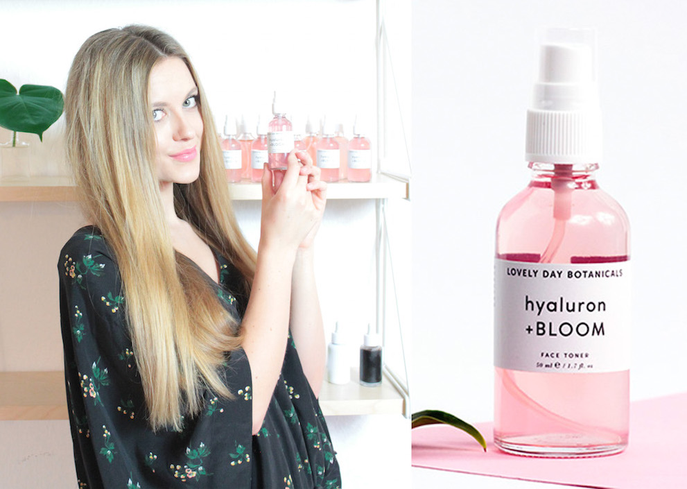 hyaluron bloom toner lovely day