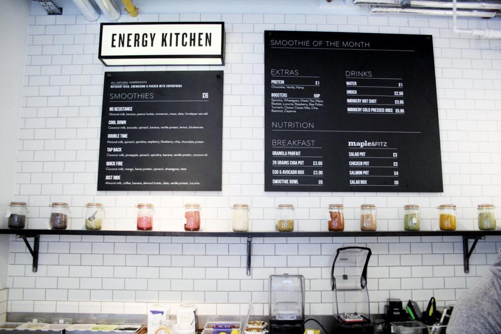 psycle energy kitchen mochni