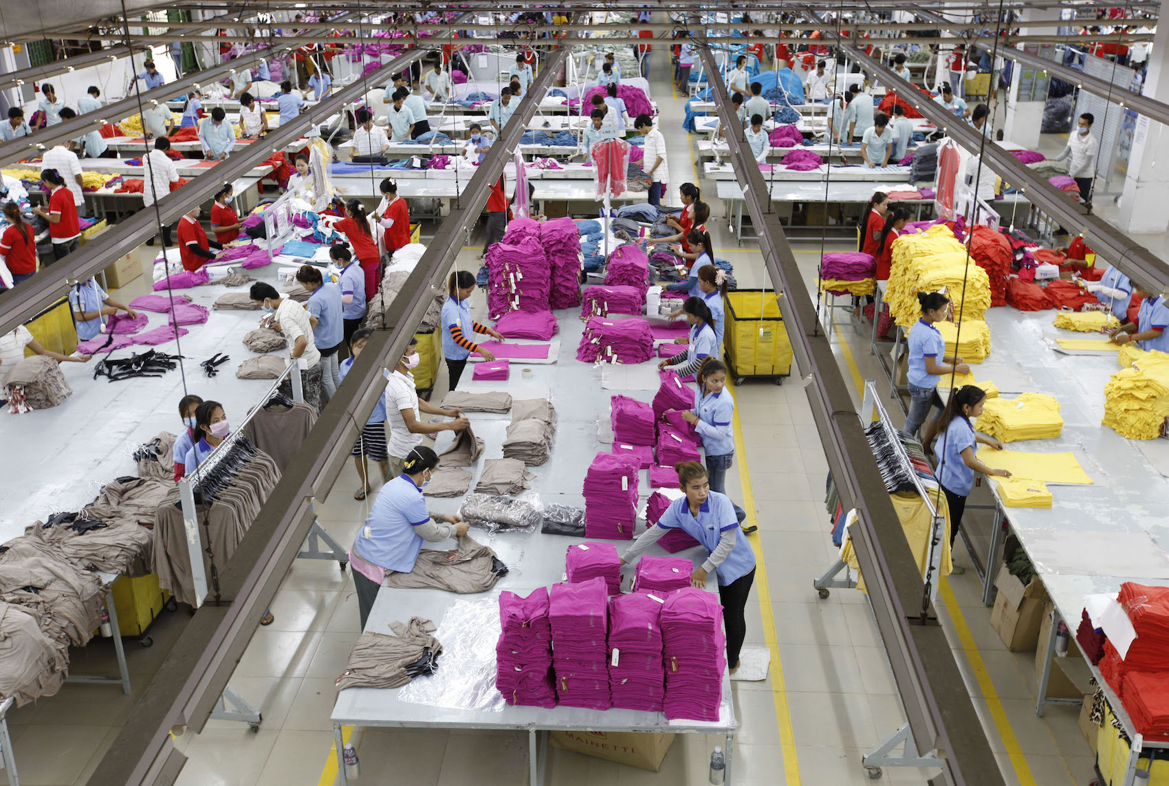 Cambodia Economy Garment Factory - Jun 2013