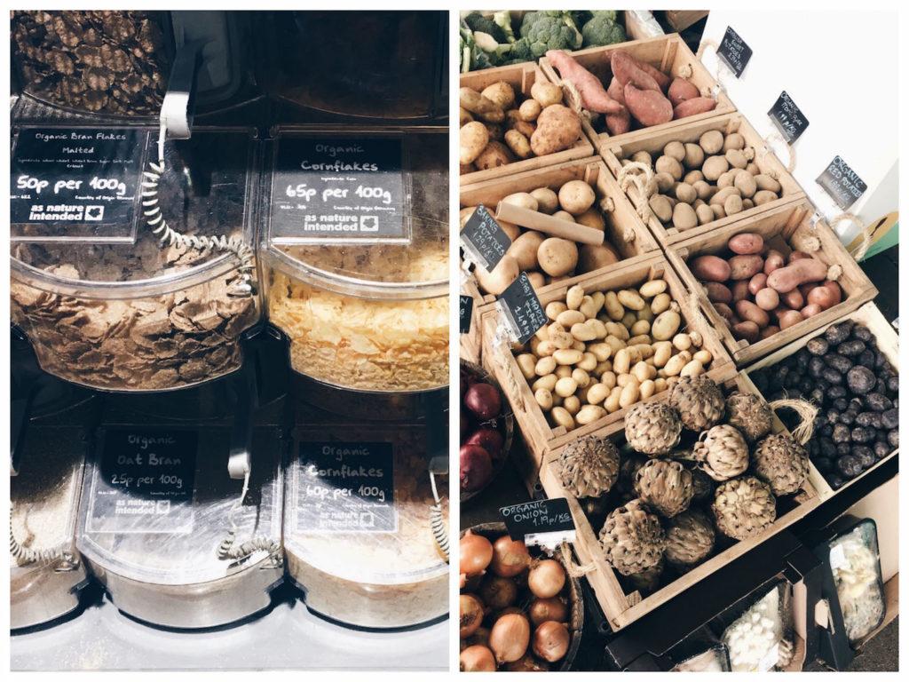 zero waste grocery shop