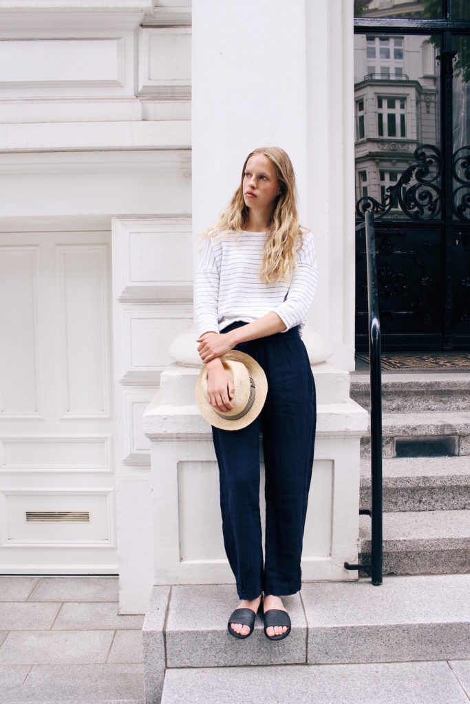 minimal style outfit
