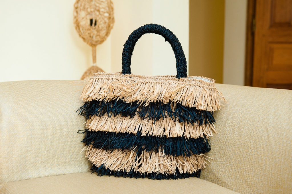 The-Noces straw bag