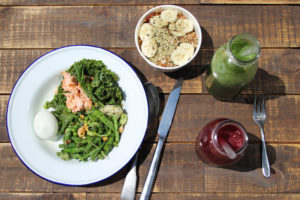 paleo lunch in london notting hill