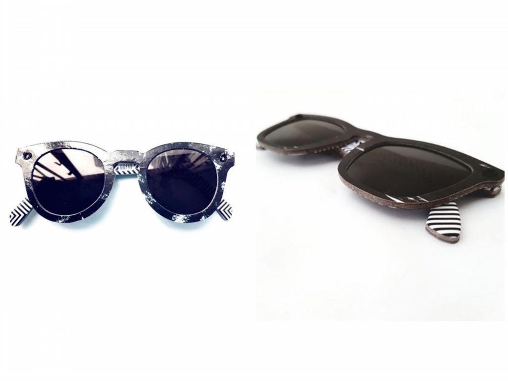 paper shades sunglasses