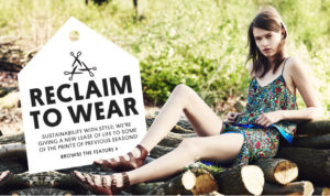 topshop sustainable collection upcycled