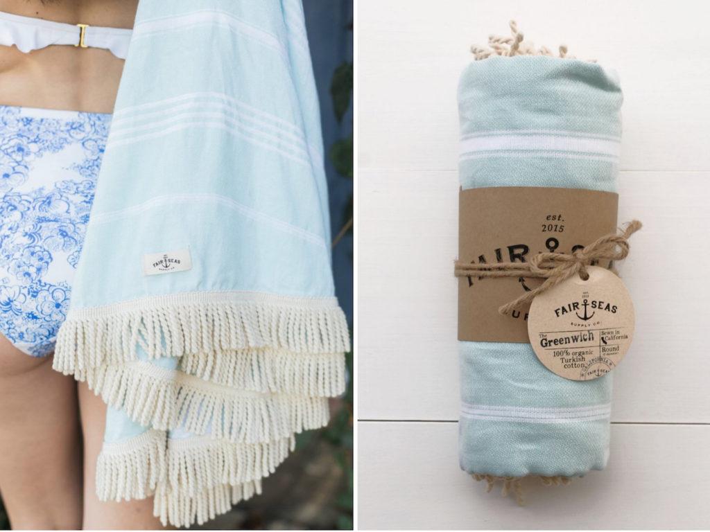 fair sea supply beach towel