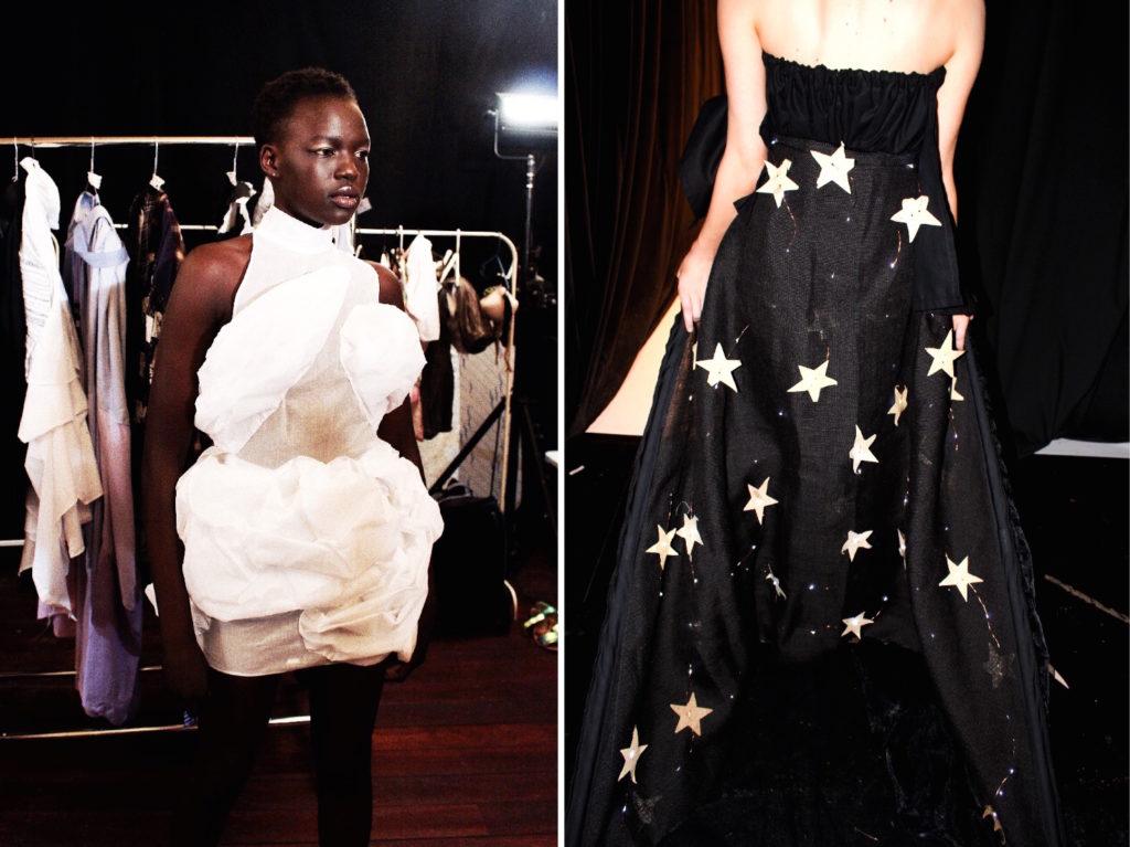 eco fashion week australia backstage