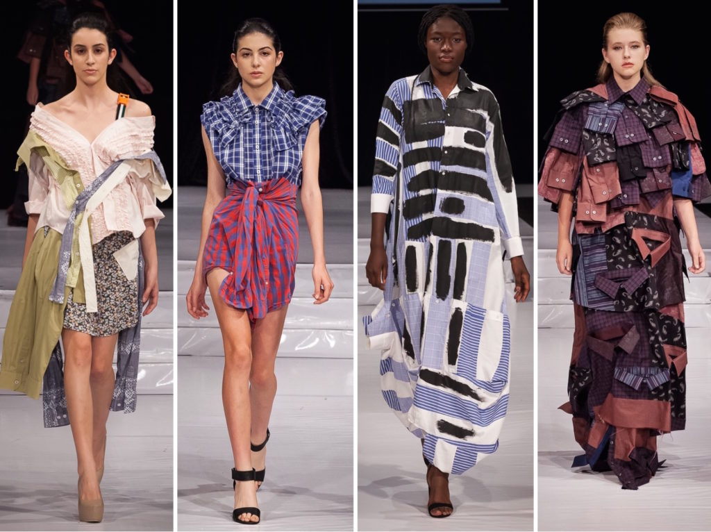 upcycling challenge eco fashion week australia