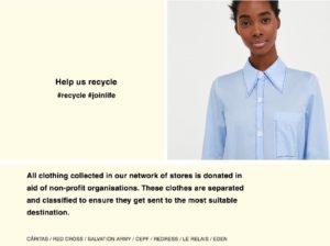 recycle zara