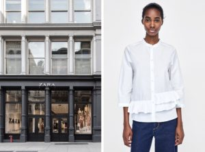 zara stores sustainable
