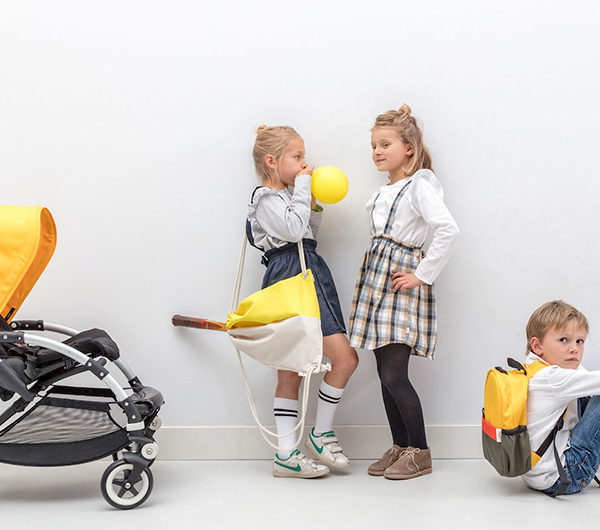 Little Boomerang´s Sustainable School Backpacks Made From Bugaboo Strollers