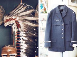 marche vernaison paris native american feather