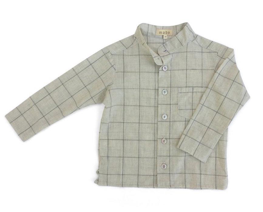 Button Down Shirt in Grid