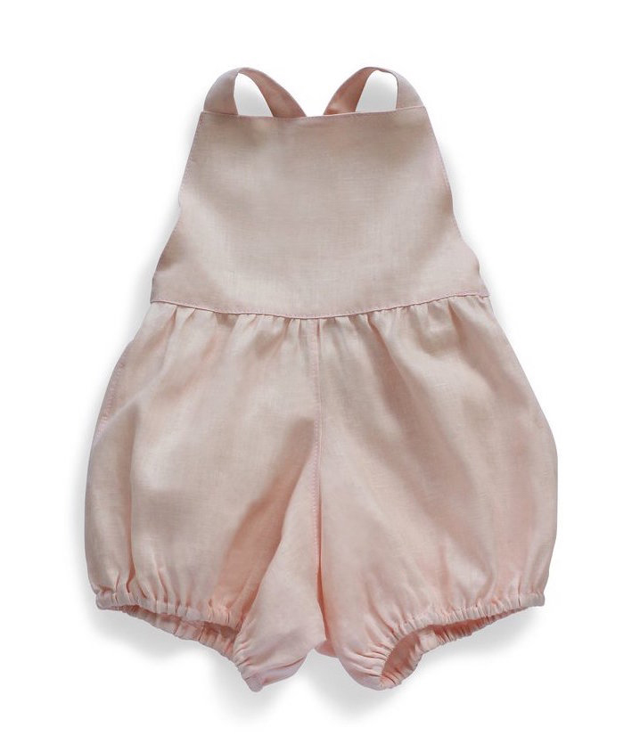Playsuit in Blush