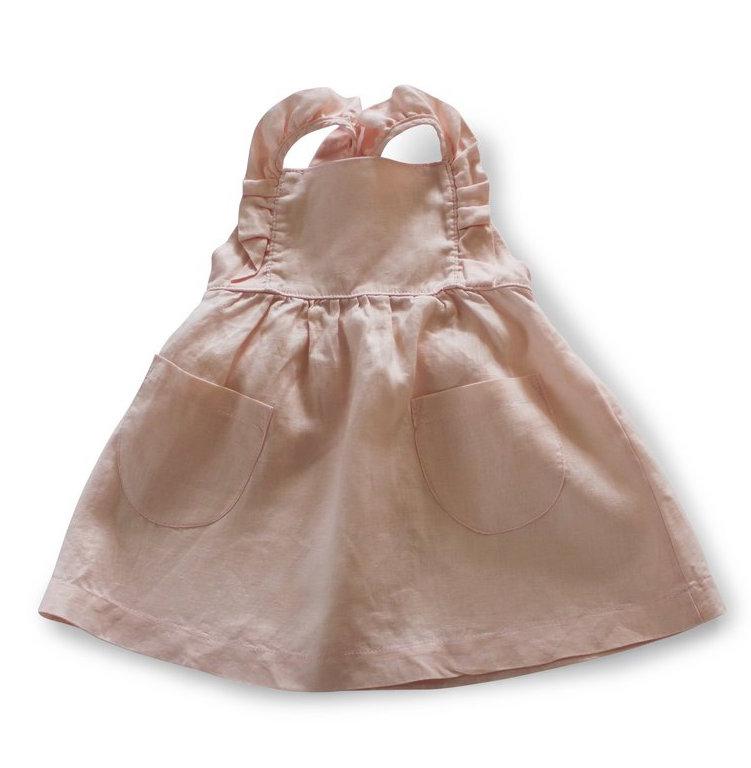 Ruffle Dress in Pink