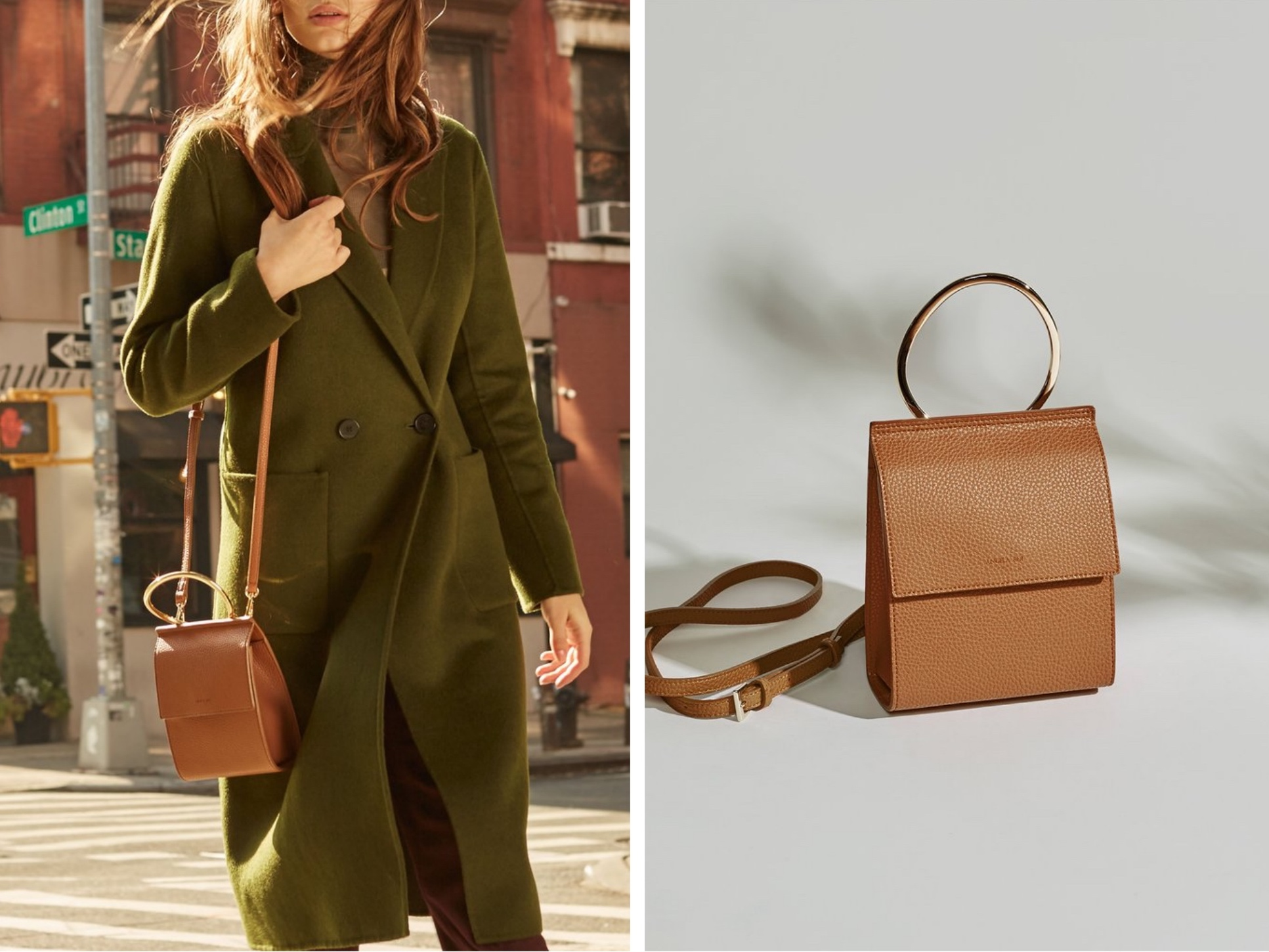 The Ethical Luxury Vegan Handbag Brand From Nyc Features Modern Classic Bags In High Quality Polyurethane Short Pu Which Is Sustainable Alternative