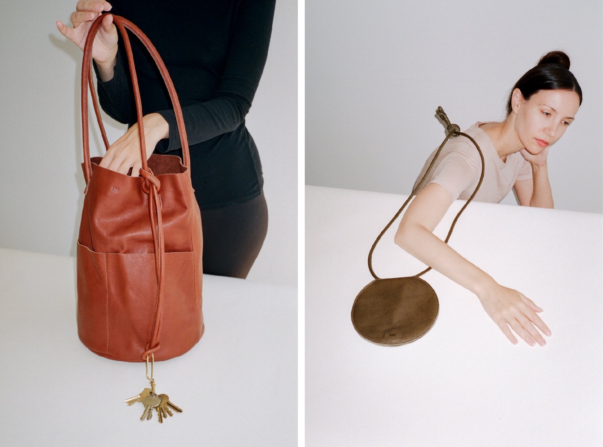 are studio ethical leather bag