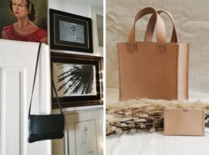 couper et coudre ethical leather bag