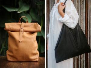imke disselhoff ethical leather bag
