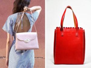 lahara ethical leather bag