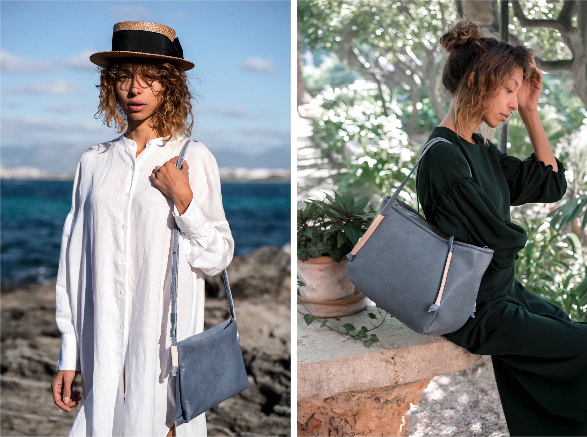maravillas bags ethical leather bag