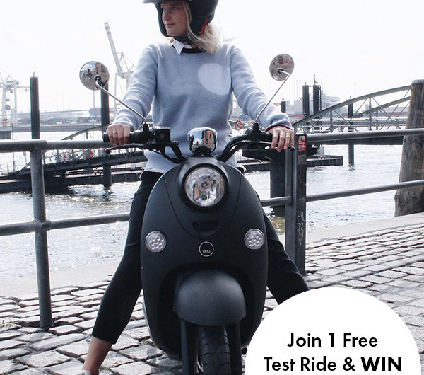 Join A Free Test Ride With unu E-Scooter + Win 1 Mochni Goodie Bag
