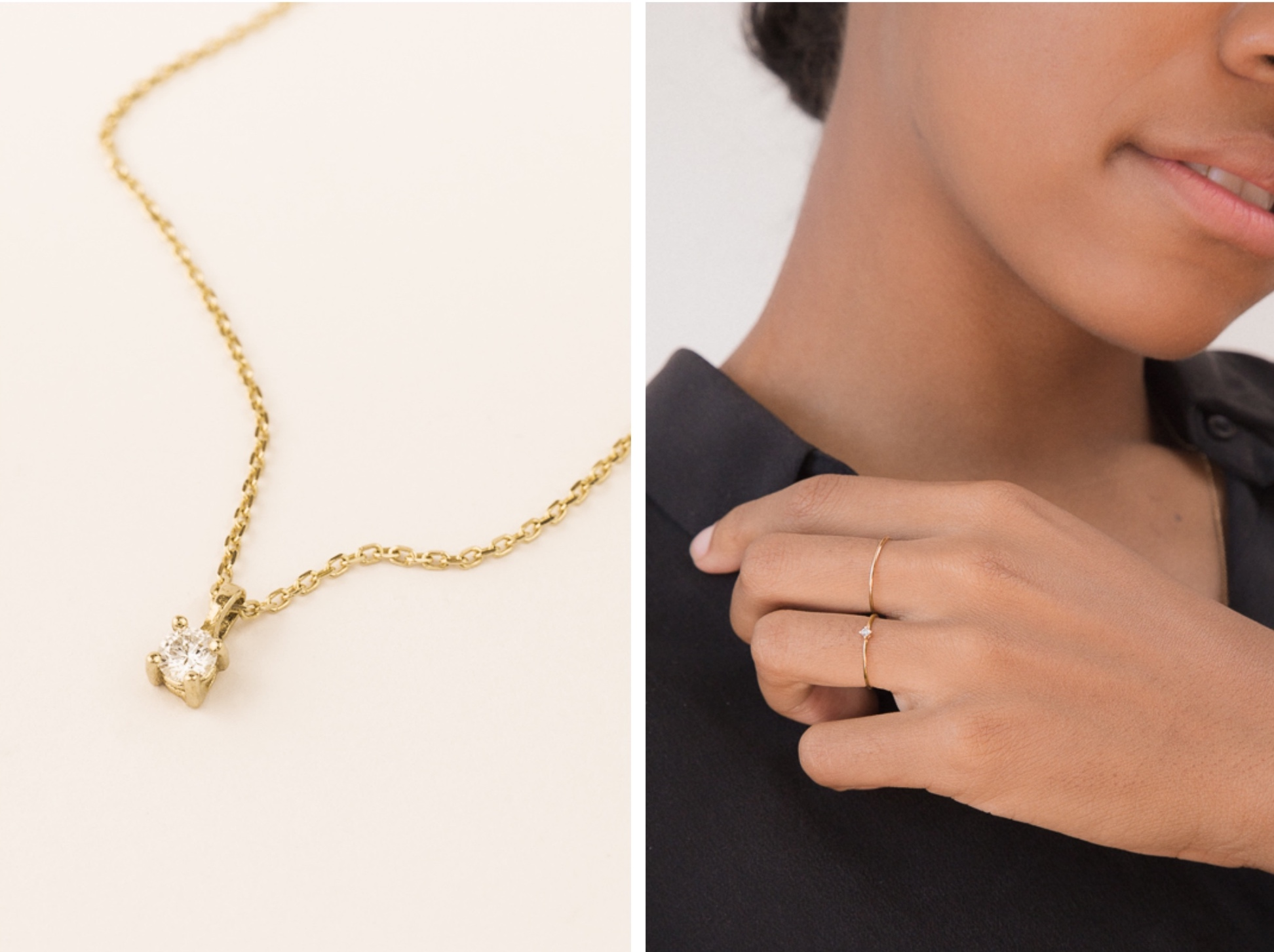 80ca60c4bb52ce The sustainable and ethical jewelry brand from Sweden makes minimalist,  super simple diamond pieces we love. Whether to a cocktail dress or to  jeans and a ...